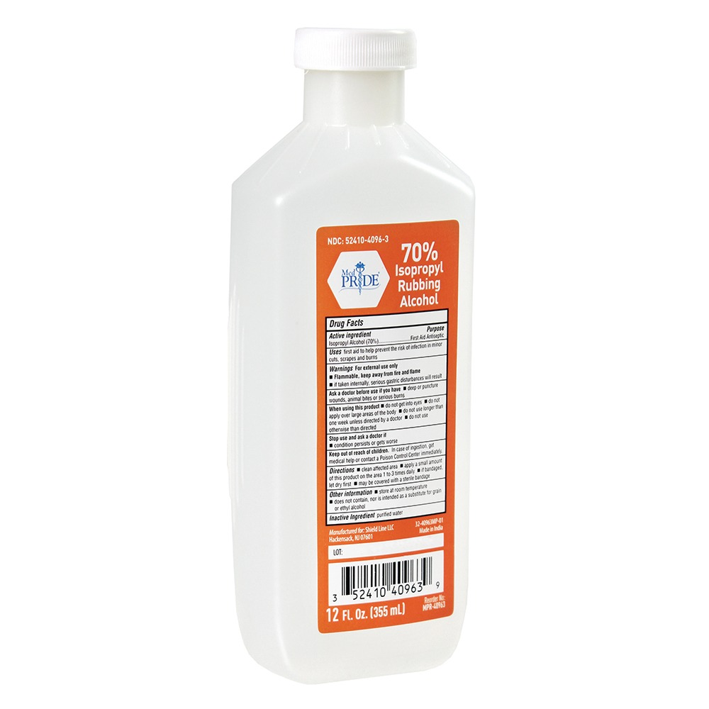 12 oz-70% Isopropyl Rubbing Alcohol