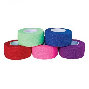 Self-Adherent-Wrap-1-x-5-yds-Rainbow-5-colors-MPR-65011