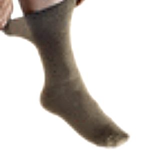 Mens 2 pair compression socks tan